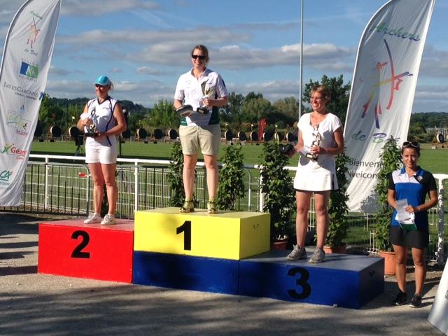 D1 – DNAP à Boé : Sandra Hervé vainqueur en individuel