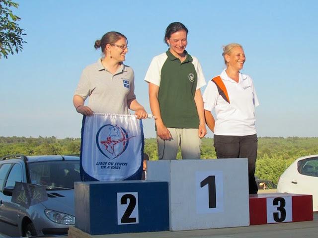 Laëtitia Montiel sacrée Championne de France Tir Nature