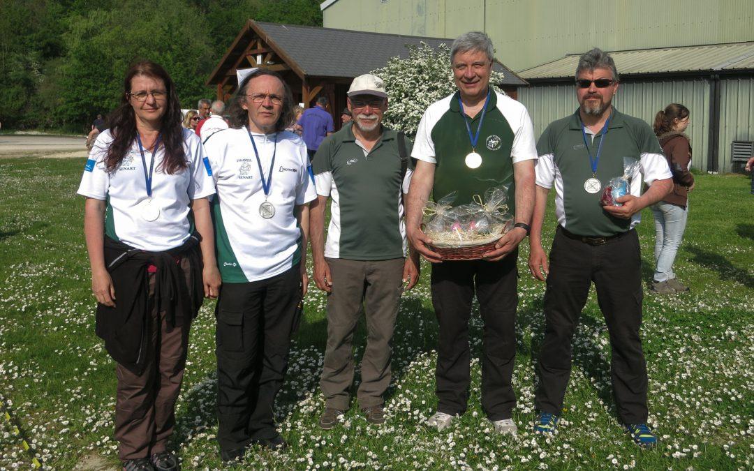 Résultats du championnat Départemental Nature